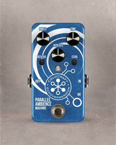 Coldcraft Effects Introduces the EchoVerberator and Harmonic Tremolo