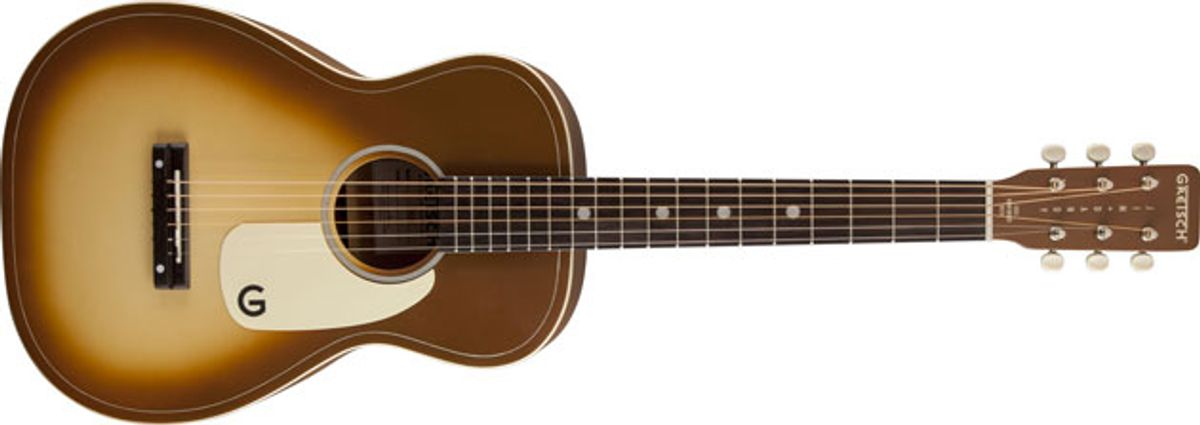 Gretsch Introduces the G9520-BRB Jim Dandy Flat Top Acoustic Guitar