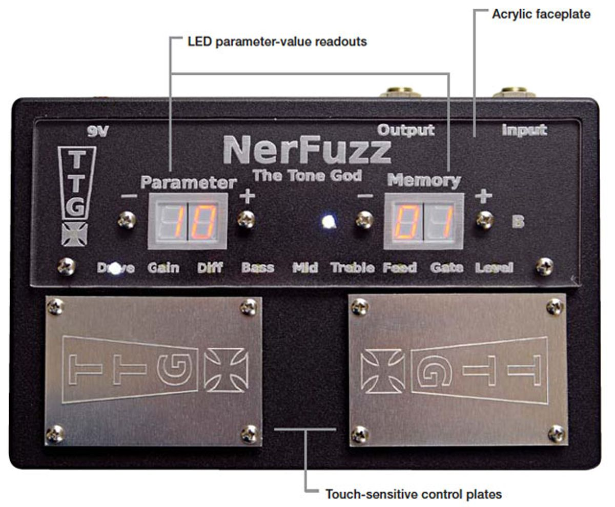 The Tone God NerFuzz Pedal Review