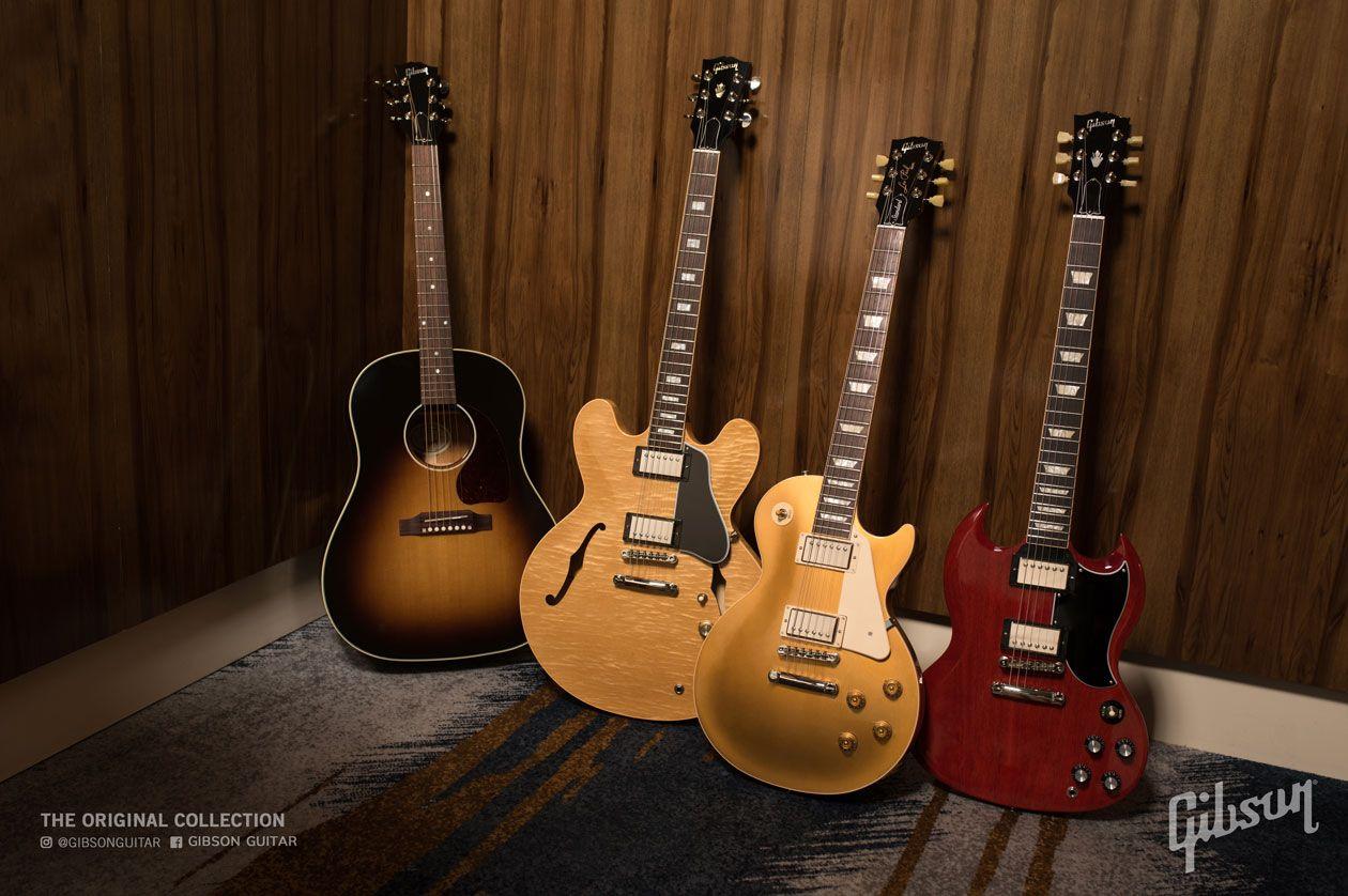 Gibson Announces the Original, Modern, and Custom Shop Original Collections