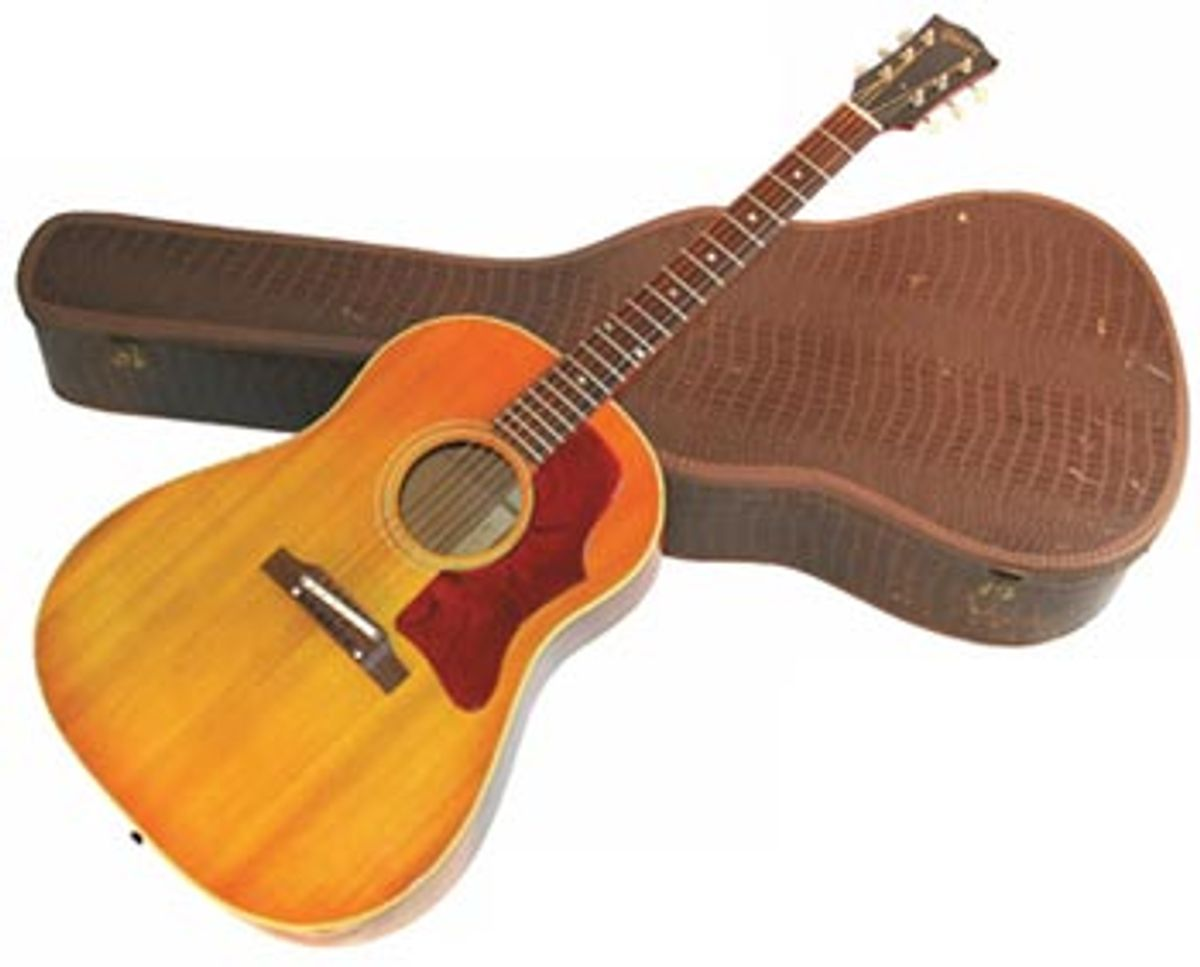 1964 Gibson J-45 Serial Number 215778