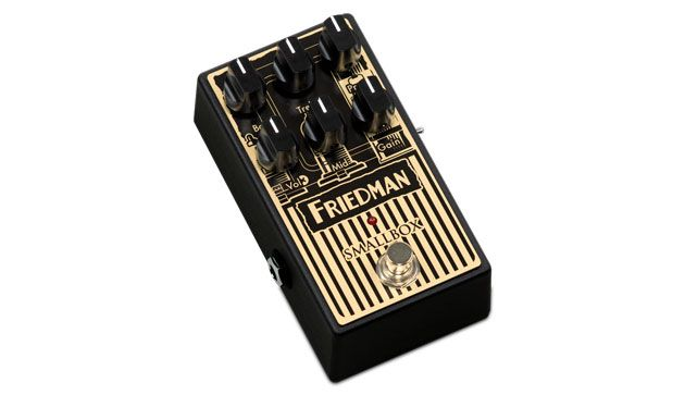 Friedman Unveils the Smallbox Overdrive