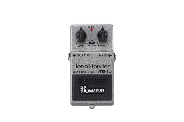 Boss and Sola Sound Team Up for the Waza Craft TB-2W Tone Bender