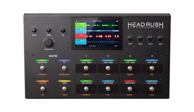 Headrush Releases Looperboard Update with Firmware 2.0
