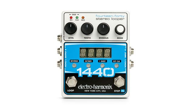 Electro-Harmonix Launches the 1440 Stereo Looper