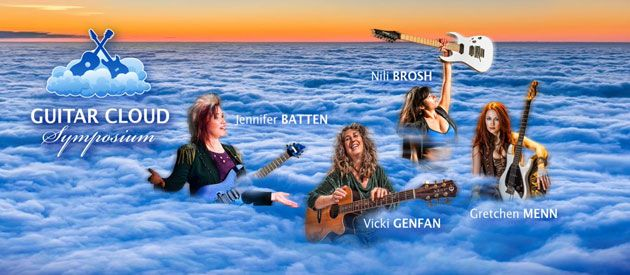Jennifer Batten Unveils the Guitar Cloud Symposium