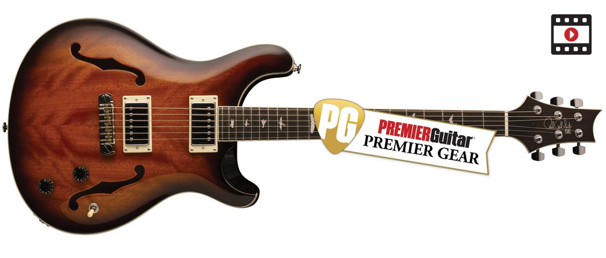 PRS SE Hollowbody Standard: The Premier Guitar Review