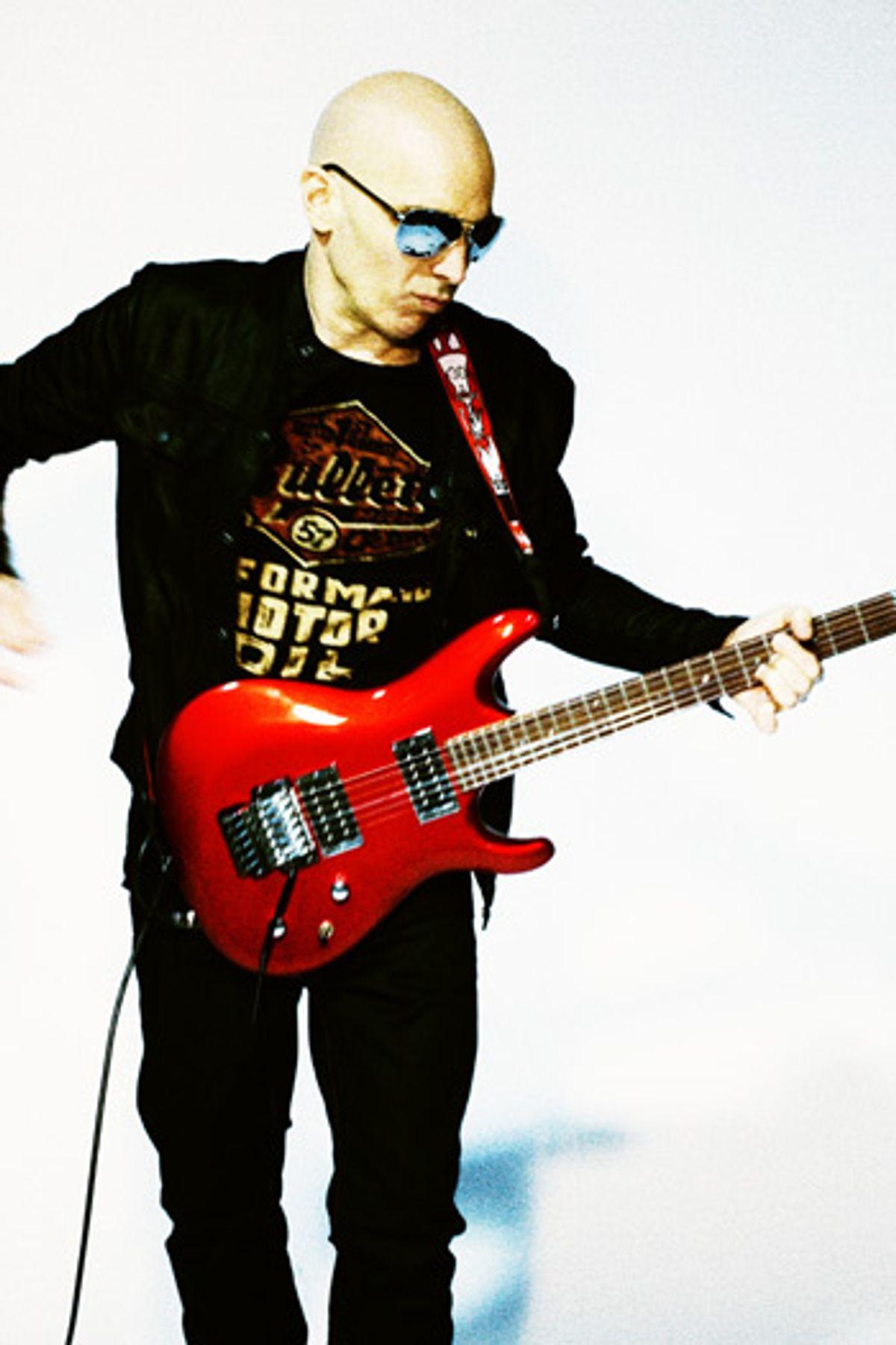 Interview: Joe Satriani - Into the Wormhole