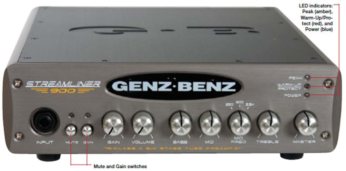 Genz Benz Streamliner 900 Bass Amp Review