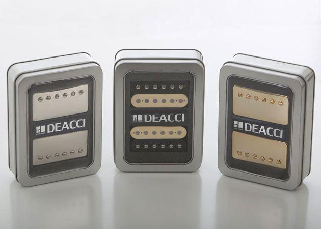 Deacci Unveils Pure Vintage Line of Pickups