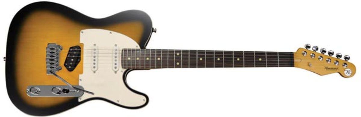 Reverend Guitars Announces the New Eastsider and Sensei RA