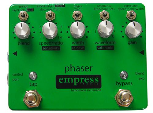 Empress Phaser Pedal Review