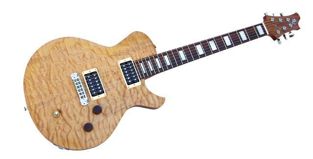 Barron Wesley Guitars Announces Alpha Single Cutaway