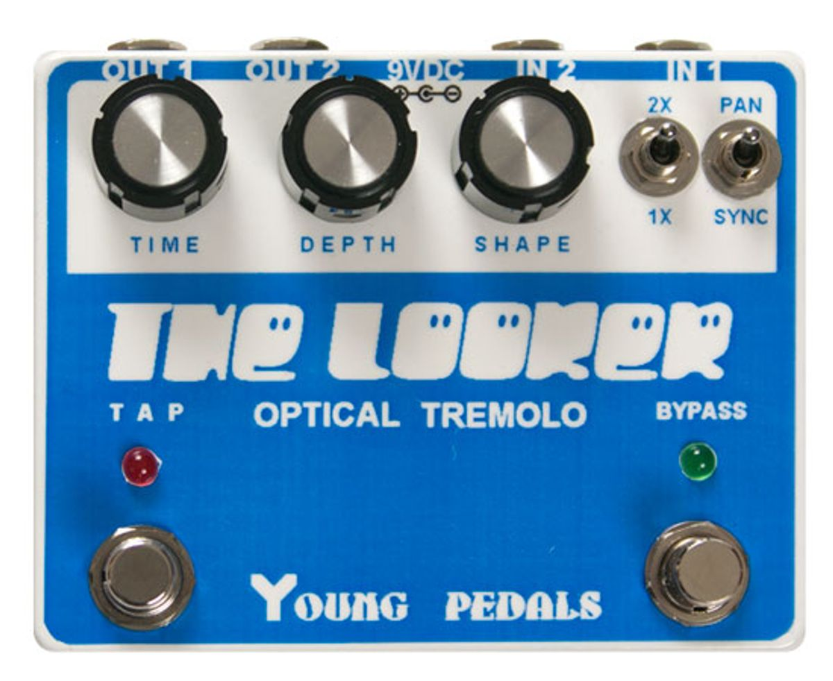 Young Pedals Looker Stereo Tremolo Pedal Review
