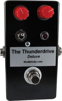 Mod Kits DIY Unveils ThunderDrive Deluxe Overdrive Pedal