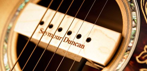 Seymour Duncan Acoustic Woody Now Available in Walnut or Black