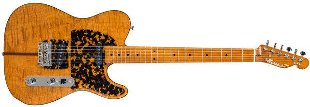 H.S. Anderson Introduces the Vintage Re-issue Mad Cat Guitar