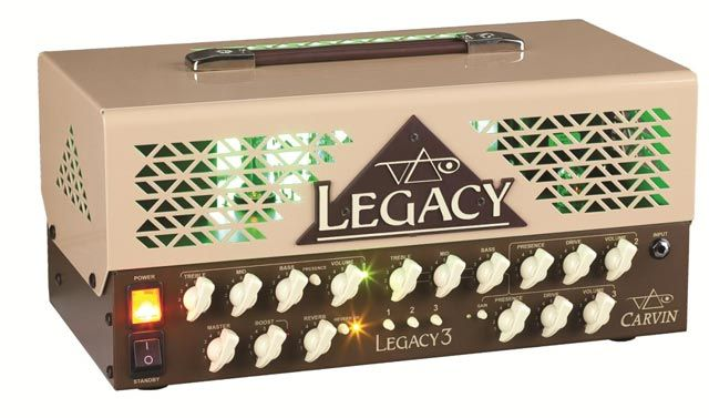 Carvin Announces the New Steve Vai Legacy III Amp