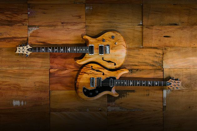 PRS Guitars Unveils Reclaimed Wood Models
