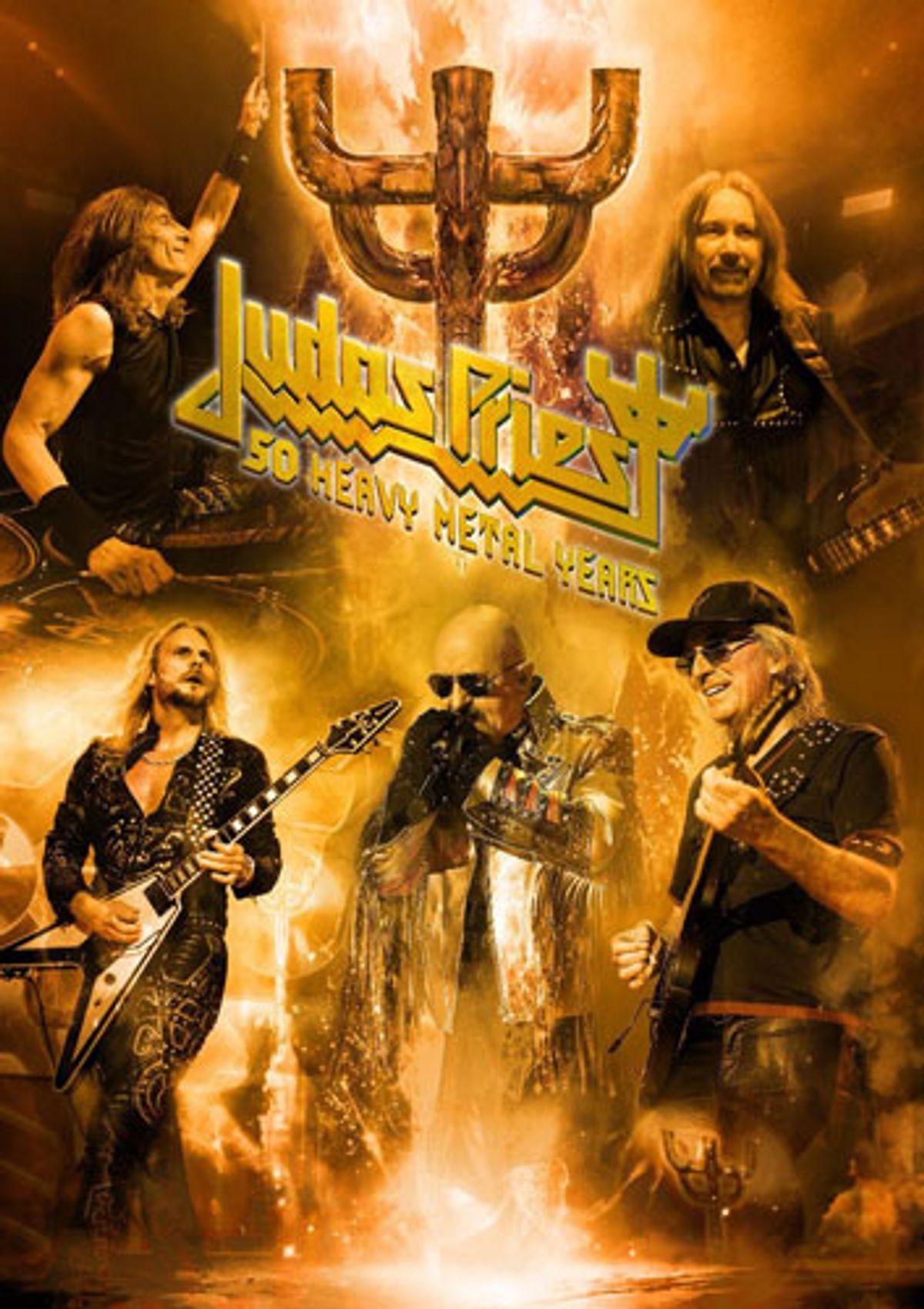 Judas Priest Announces 50 Heavy Metal Years Tour