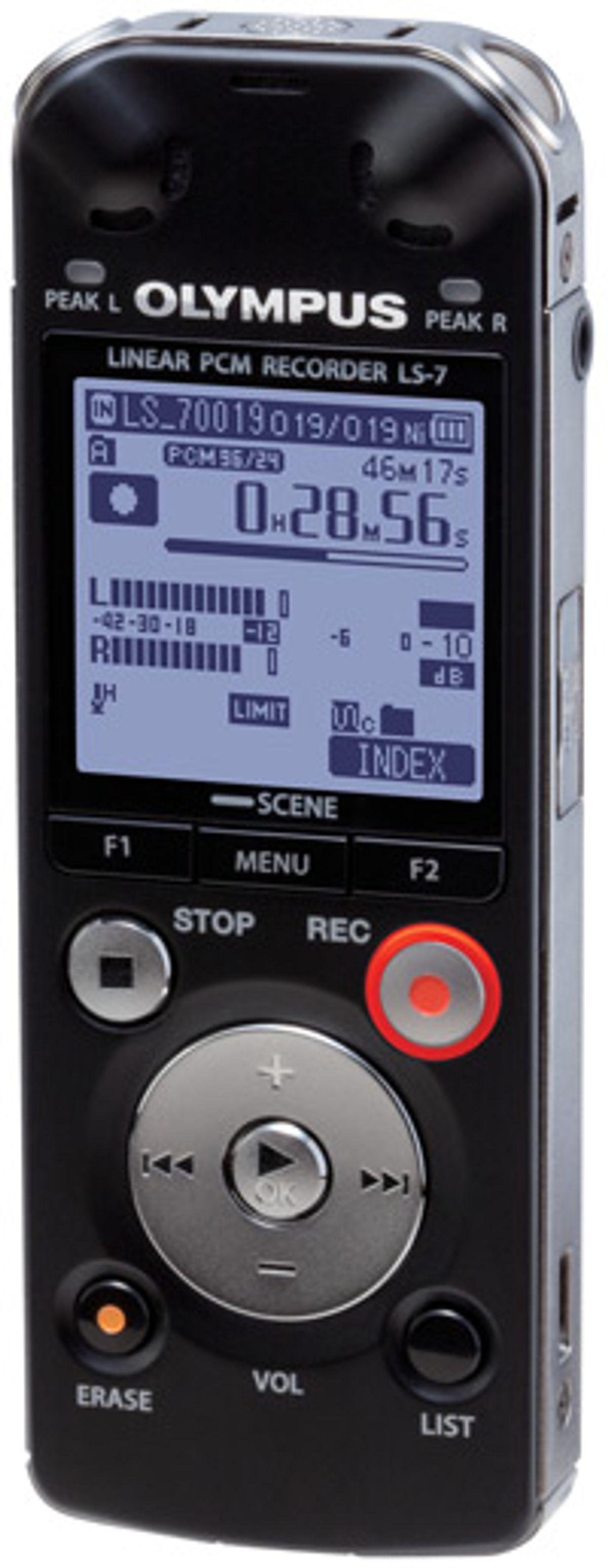 "Olympus Announces LS-7 ""Pocket"" Linear PCM Digital Recorder"
