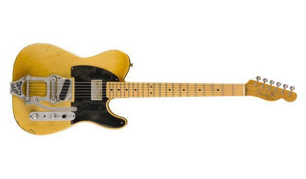 """Fender Custom Shop Releases Bob Bain """"Son of the Gunn"""" Telecaster"""