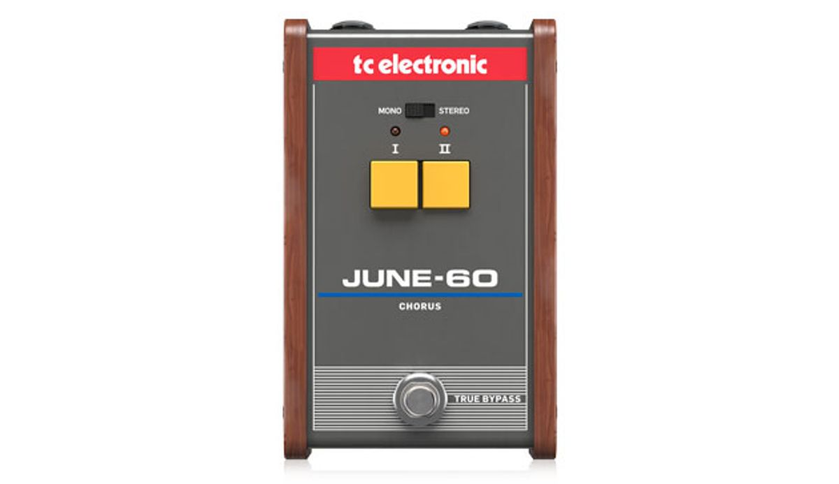 TC Electronic Introduces the JUNE-60 Chorus