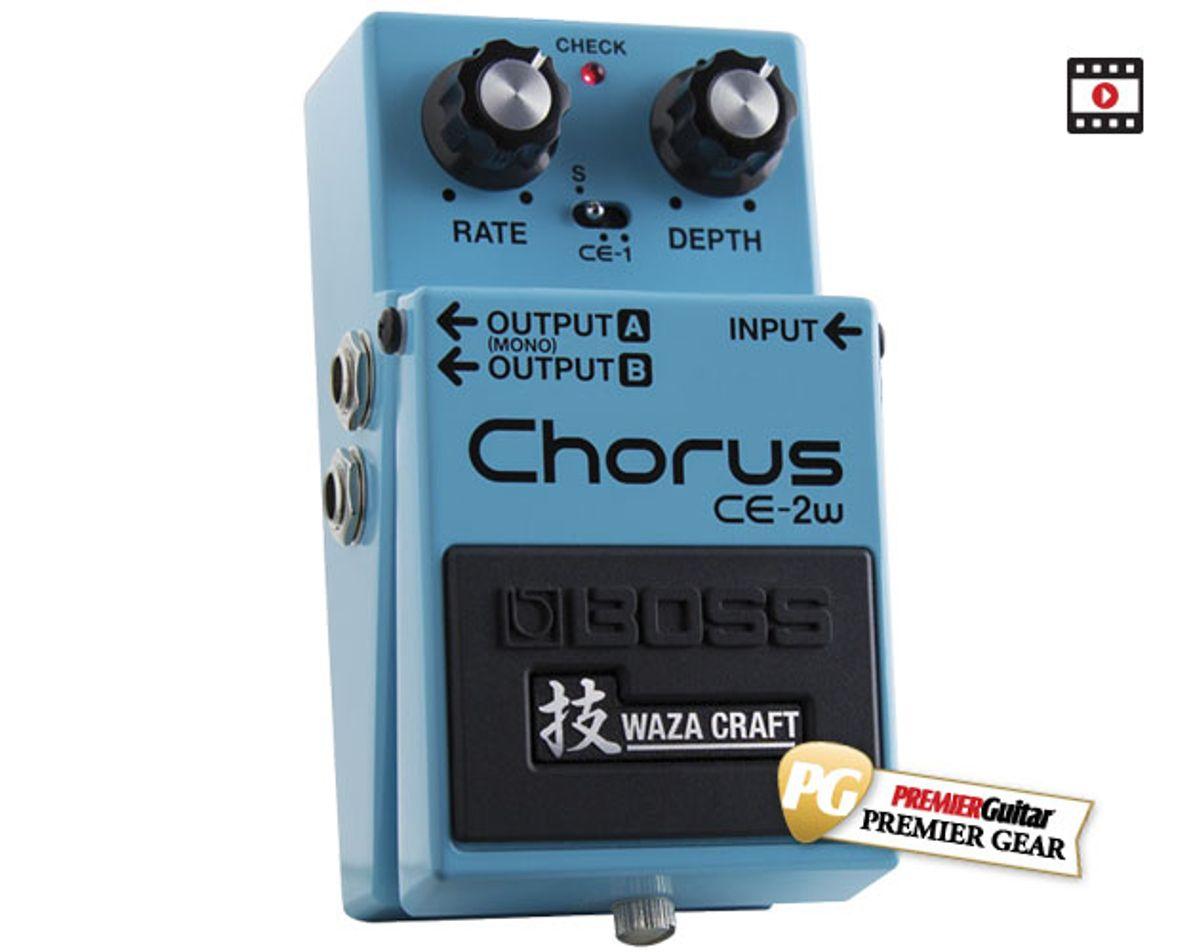 Boss CE-2W Waza Craft Chorus Review