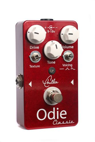 Chellee Guitars Unveils the Odie Classic Overdrive
