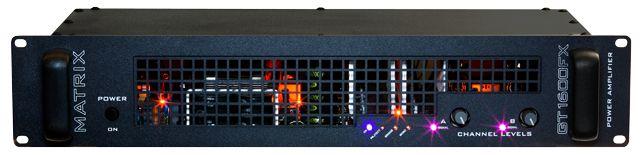 Matrix Amplification Announces New GT1600FX Power Amp