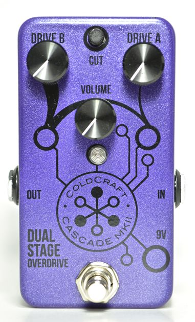Coldcraft Effects Debuts Cascade MkII Dual Stage Overdrive