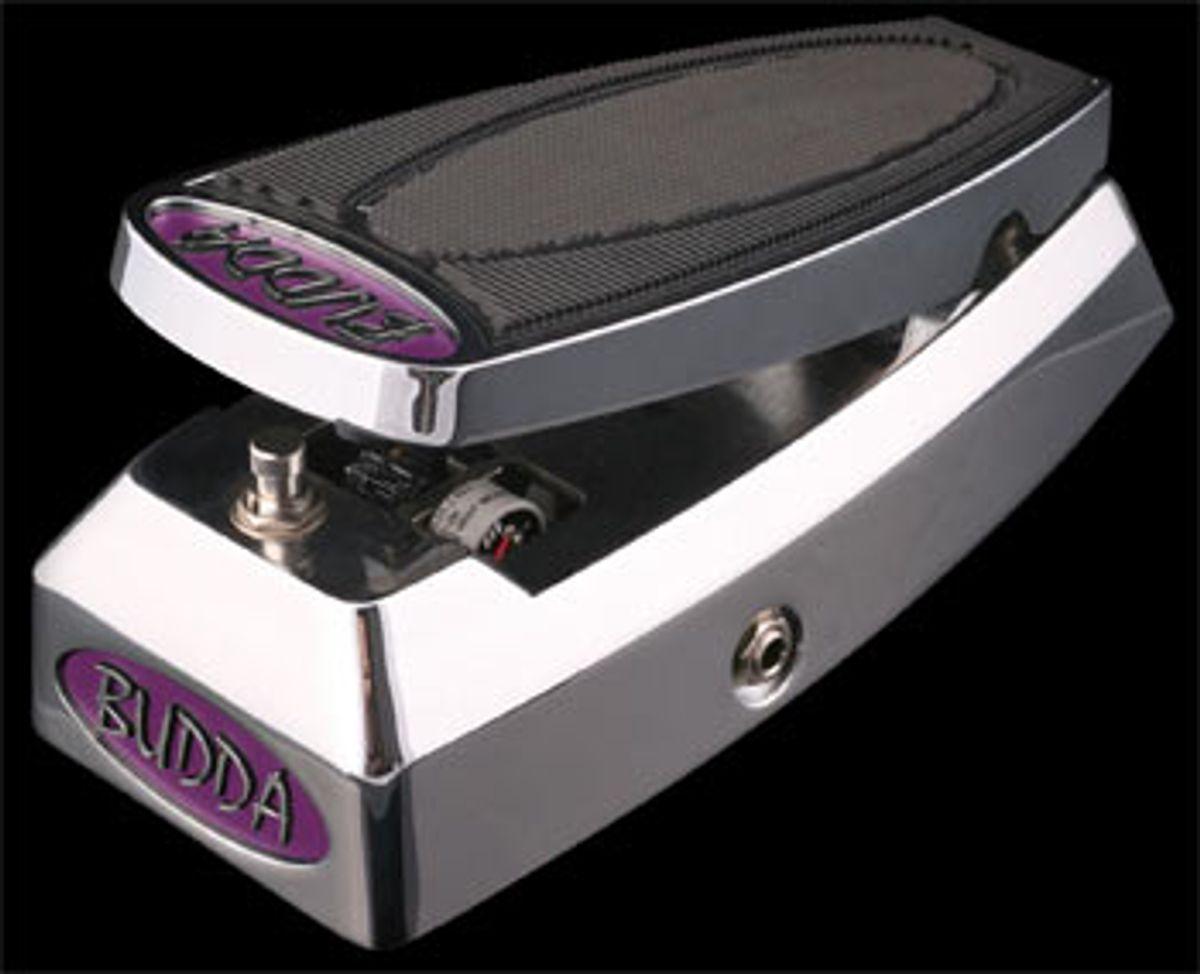 Budda Announces Upgrades to Budwah Pedal