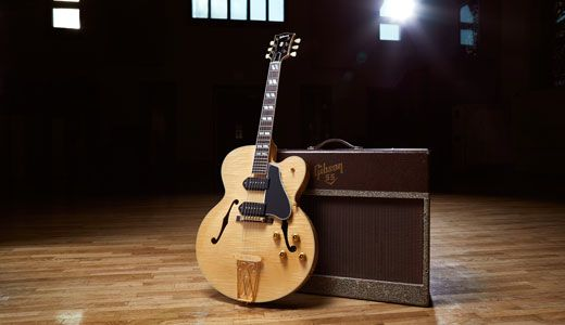 Gibson Announces Release of Limited-Edition Chuck Berry 1955 ES-350T