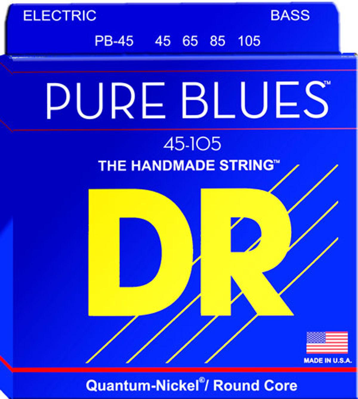 DR Strings Announces Pure Blues Electric Bass Strings