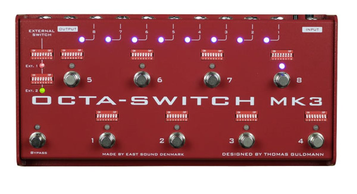 Carl Martin Releases the Octaswitch Mk3
