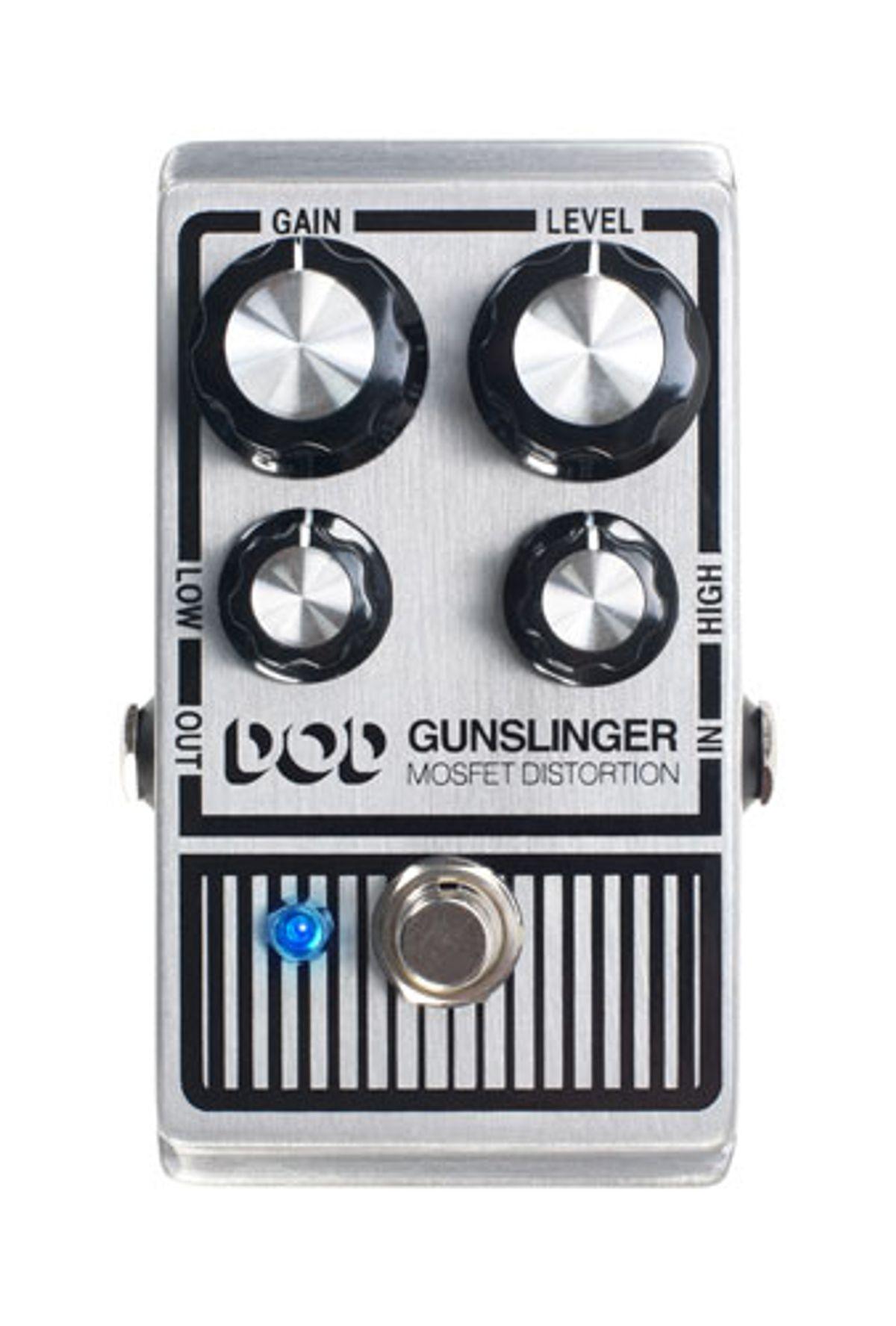 DigiTech Introduces the Gunslinger MOSFET Distortion