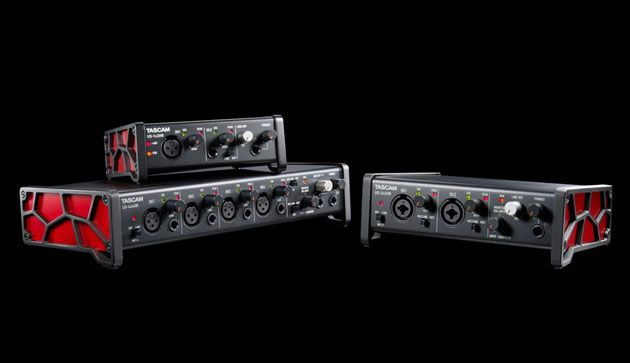 TASCAM Debuts the US-HR Series High Resolution USB Audio Interfaces