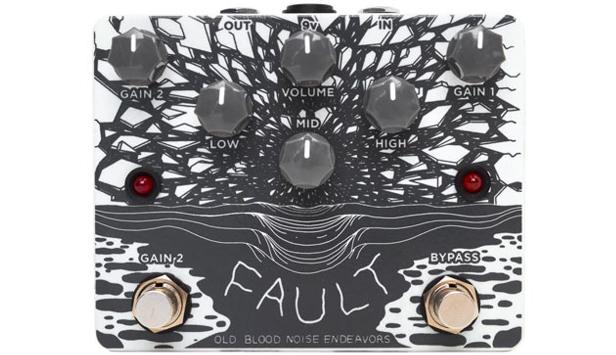 Old Blood Noise Endeavors Presents the Fault Overdrive/Distortion