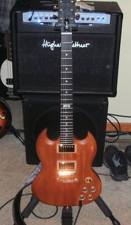Reader Guitar of the Month: Stripped SG Special