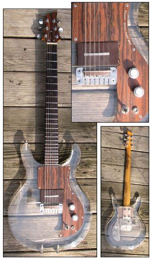 Gear Search Gallery: 1970 Ampeg Dan Armstrong Guitar