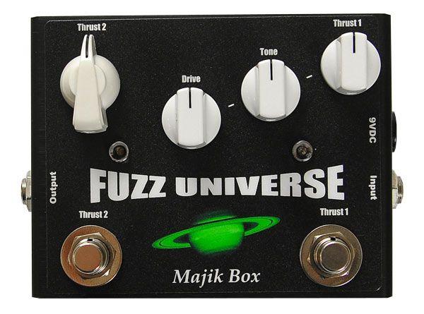 Majik Box Paul Gilbert Fuzz Universe Pedal Review
