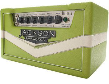 Jackson Ampworks Debuts Britain 2.0 Amp