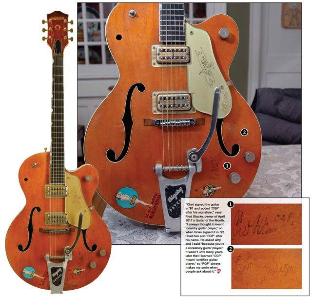 Guitar of the Month: 1959 Gretsch Chet Atkins 6120 Hollowbody
