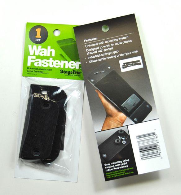 StageTrix Unveils Wah Fastener