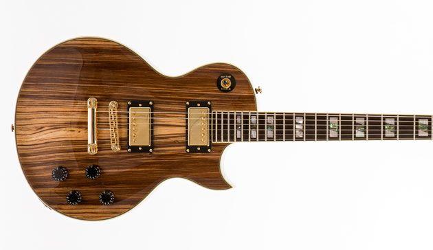 Prestige Guitars Releases the Premier Zebrawood
