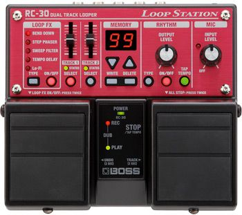 Boss Introduces RC-30 and RC-3 Loopers