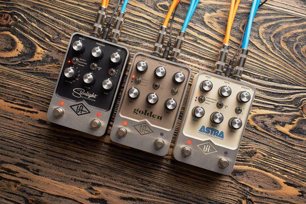 Universal Audio Announces UAFX Effects Pedals