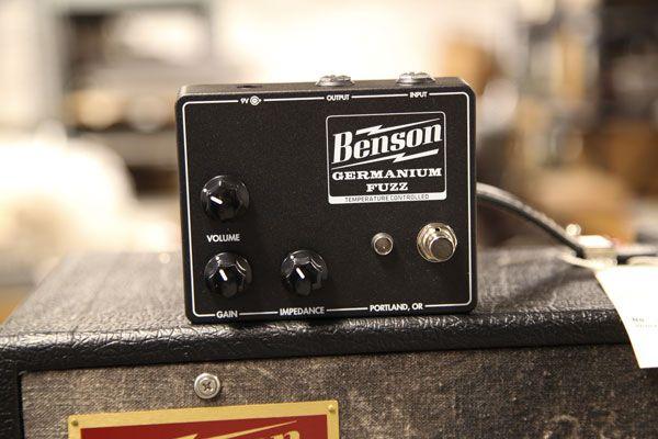 Benson Amps Releases New Germanium Fuzz