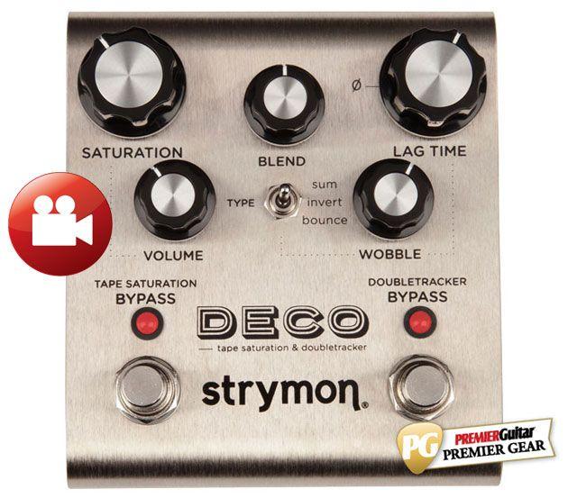 Strymon Deco Tape Saturation & Doubletracker Review