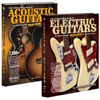 Blue Book Releases 14th Edition Electric and Acoustic Guitar Valuation Books
